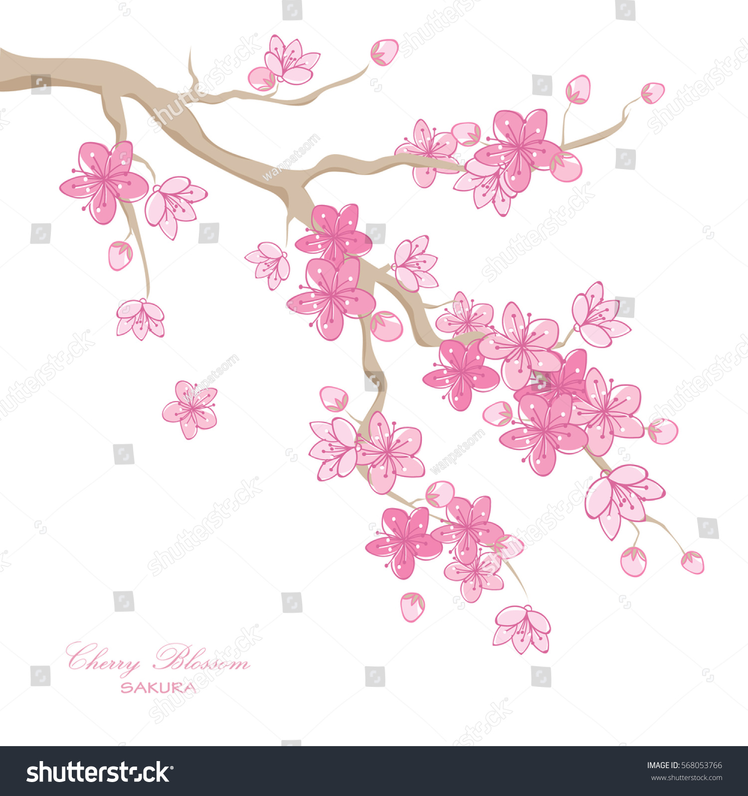 Beautiful Vector Artistic Nature Background