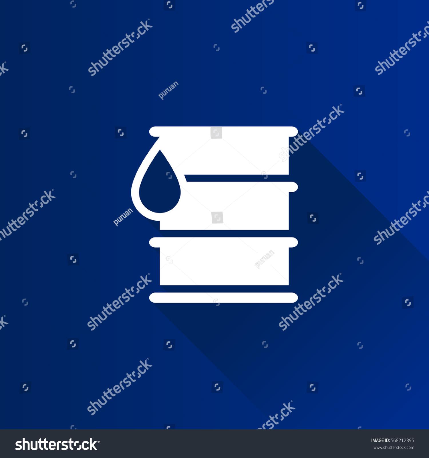 Oil Barrel Icon Metro User Interface Stock Vector 568212895