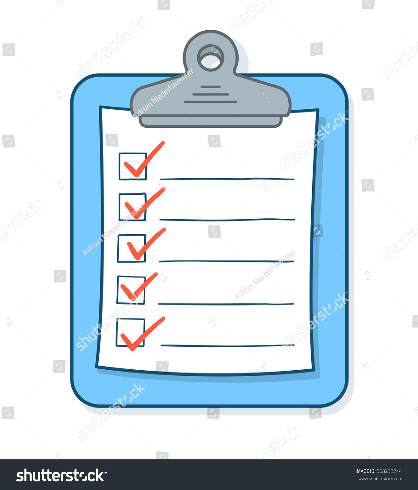 how to create a checklist document