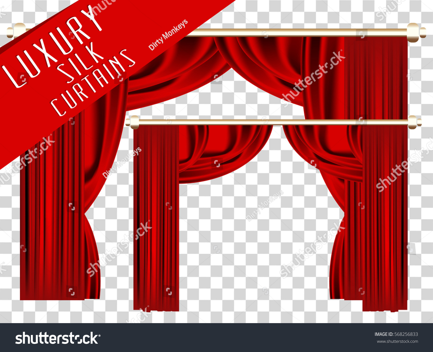 curtains art collection velvet stage with red clipart theater curtain grunge clip drapes