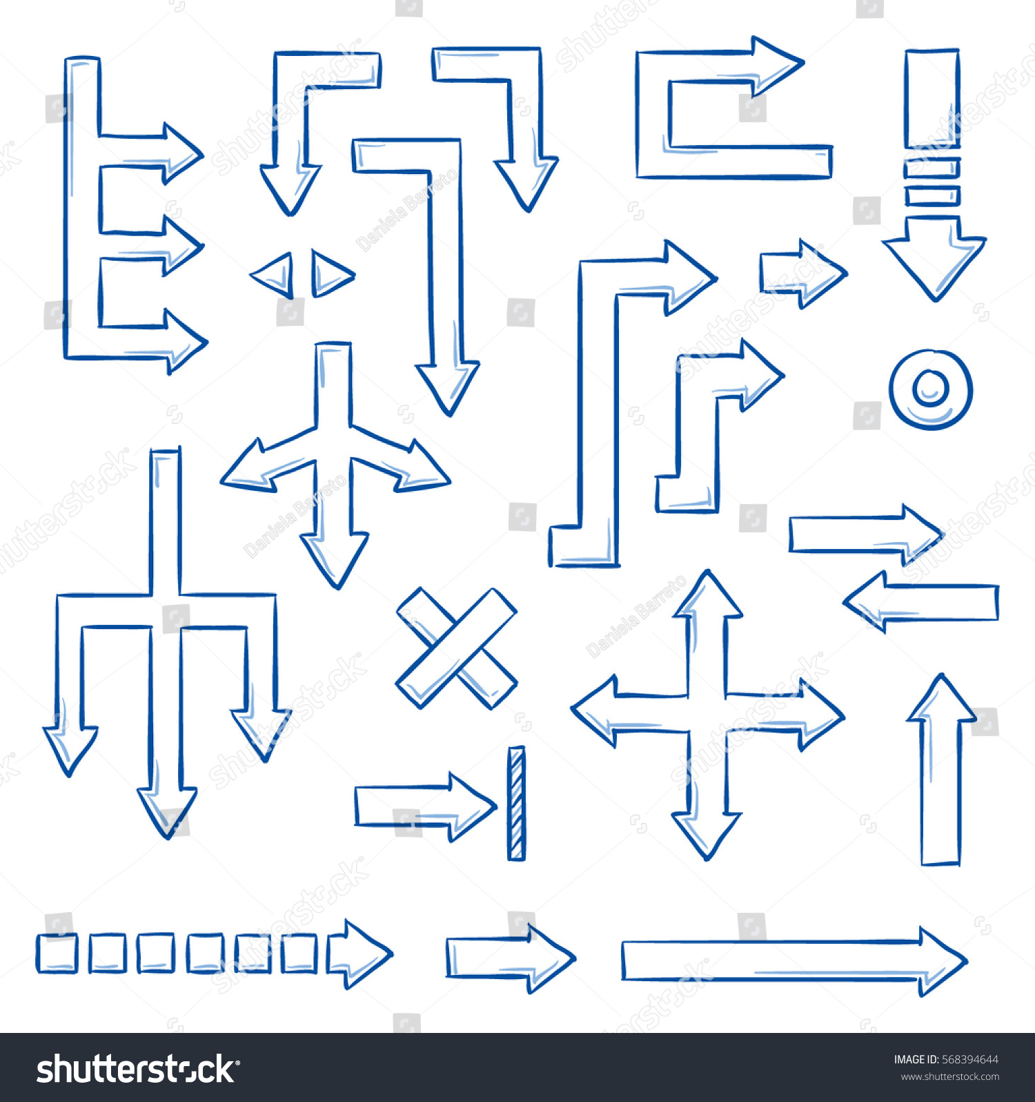 Set different straight arrows work flow stock vector 568394644 set of different straight arrows for work flow charts video clips or info graphics nvjuhfo Choice Image
