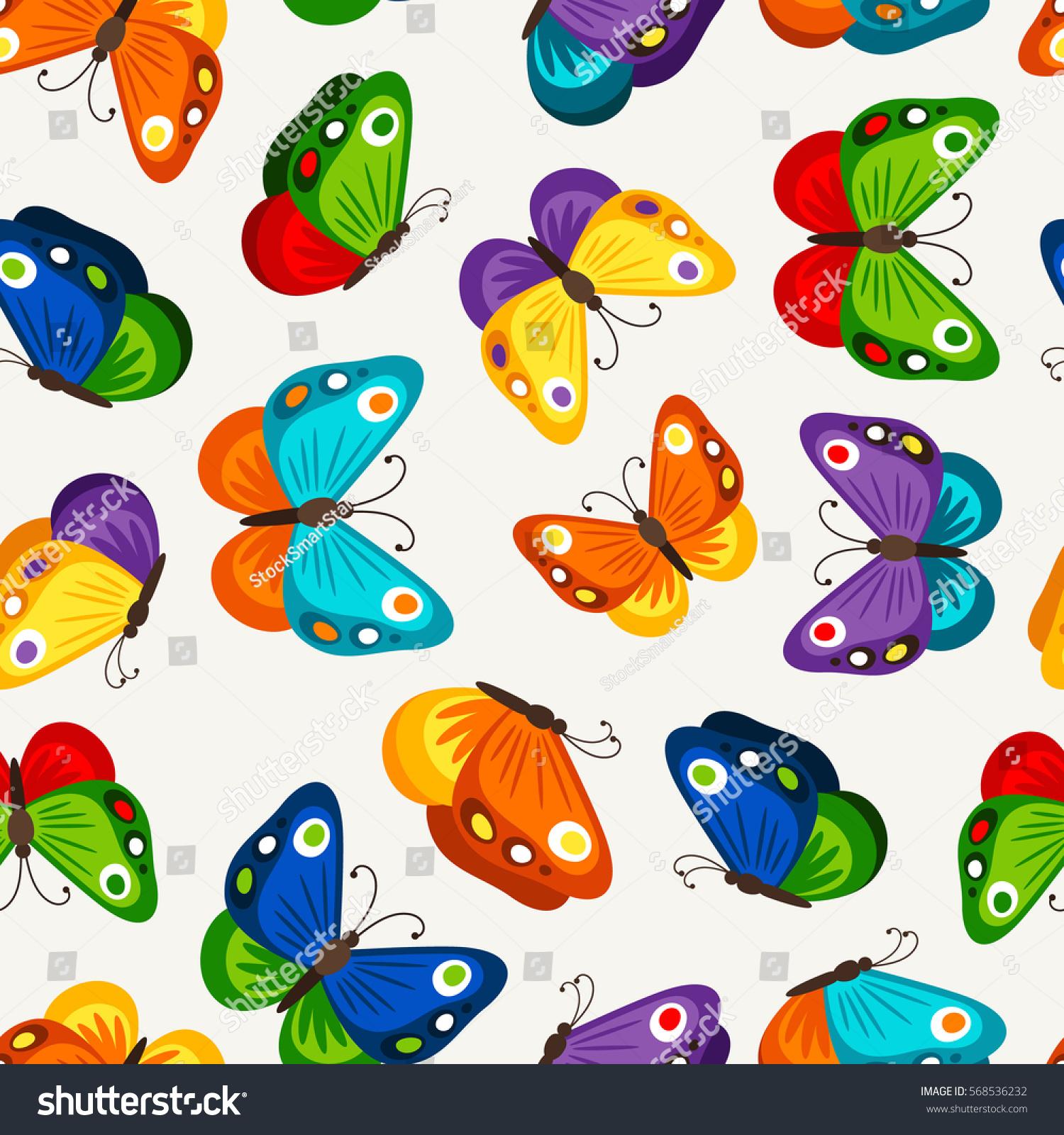 Uncategorized Images Of Butterflies For Children children butterfly seamless pattern vector fashion stock butterflies wallpaper for child