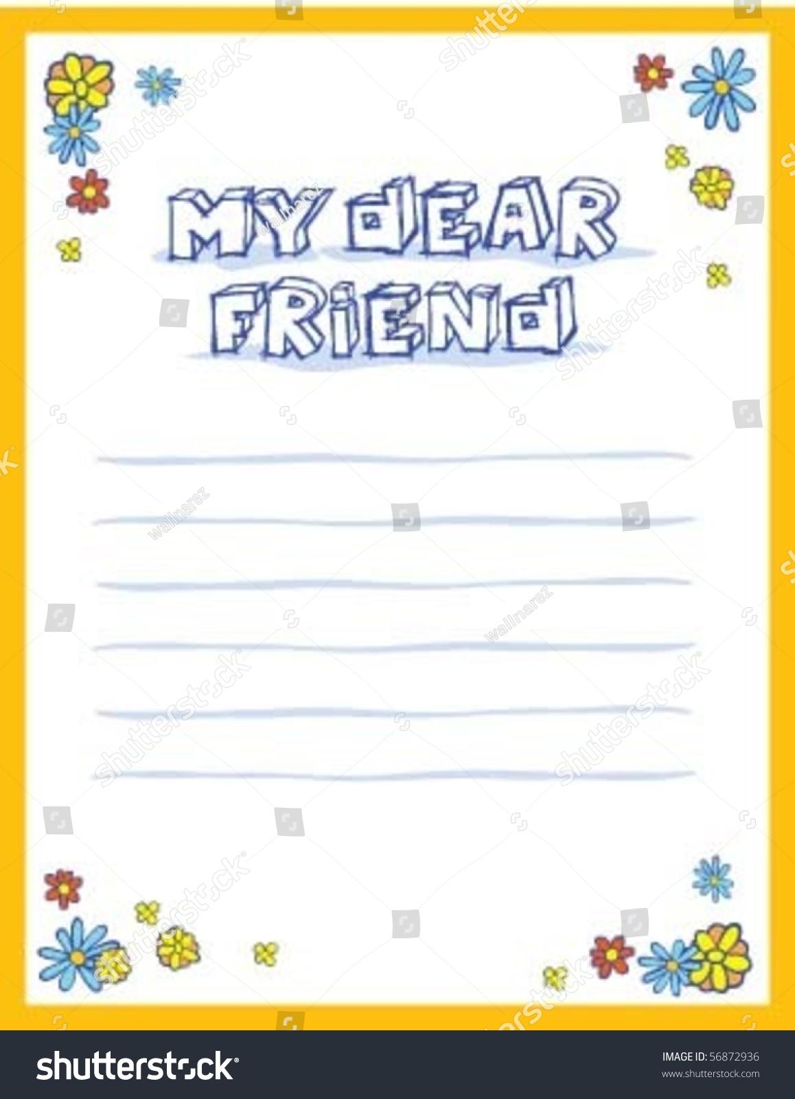 Congratulation letter friend stock photo photo vector congratulation letter for friend thecheapjerseys Gallery