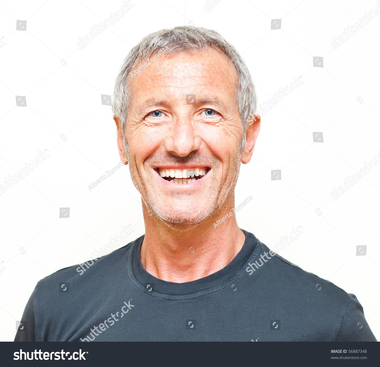 Smiling Man Portrait S...