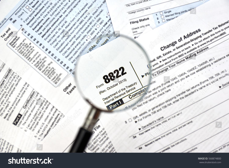 8822 change of address federal tax form   EZ Canvas