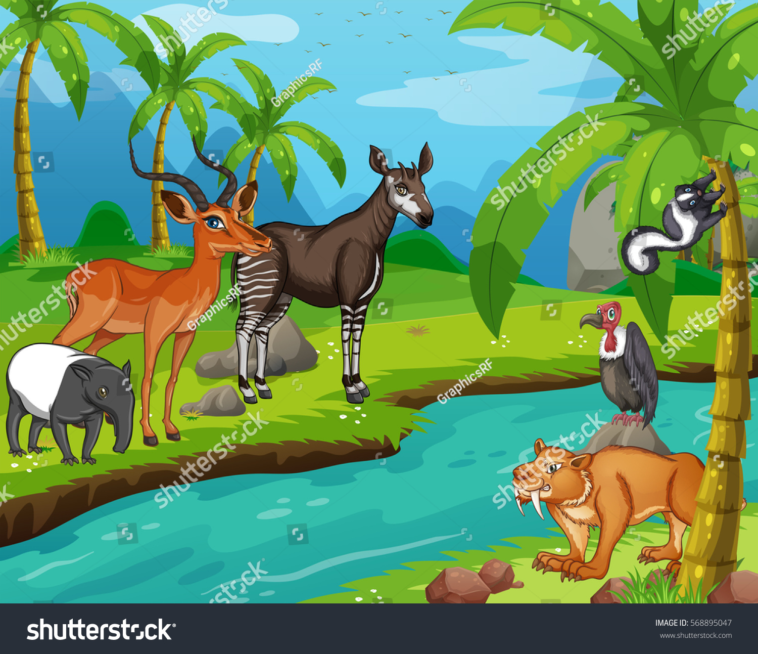 Otter Cartoon 6151*5024 transprent Png Free Download - Wildlife, Whiskers,  RED Fox. - CleanPNG / KissPNG