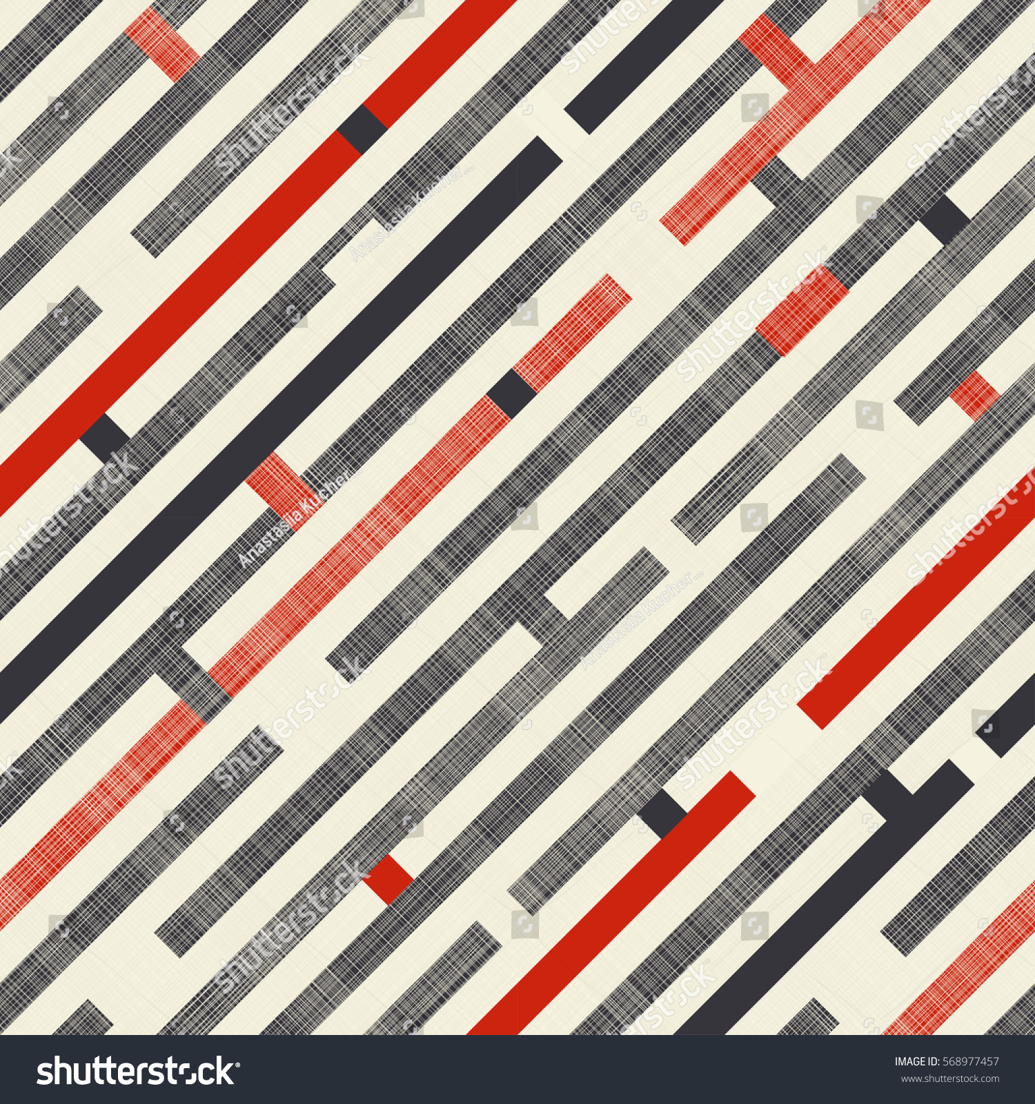 And black diagonal stripes background seamless background or wallpaper - Seamless Abstract Pattern With Diagonal Stripes On Texture Background In Retro Colors Endless Pattern Can