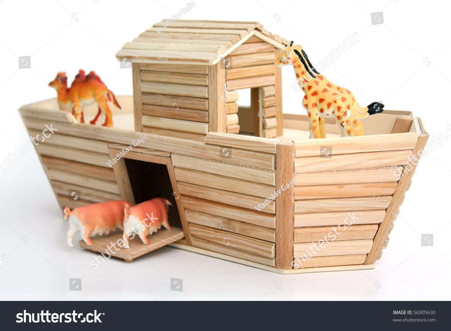 How To Build Noah S Ark With Popsicle Sticks