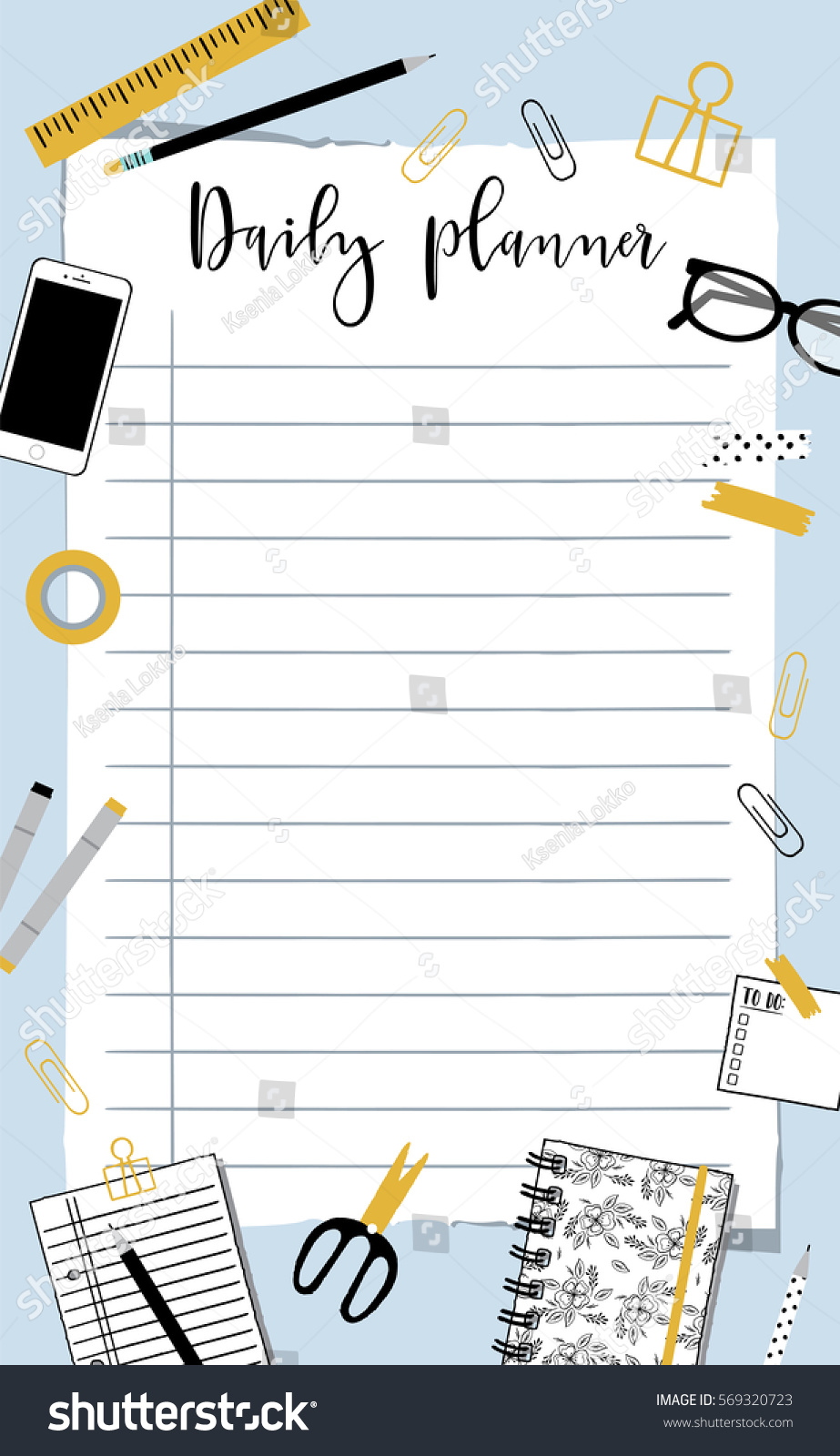 daily notes template