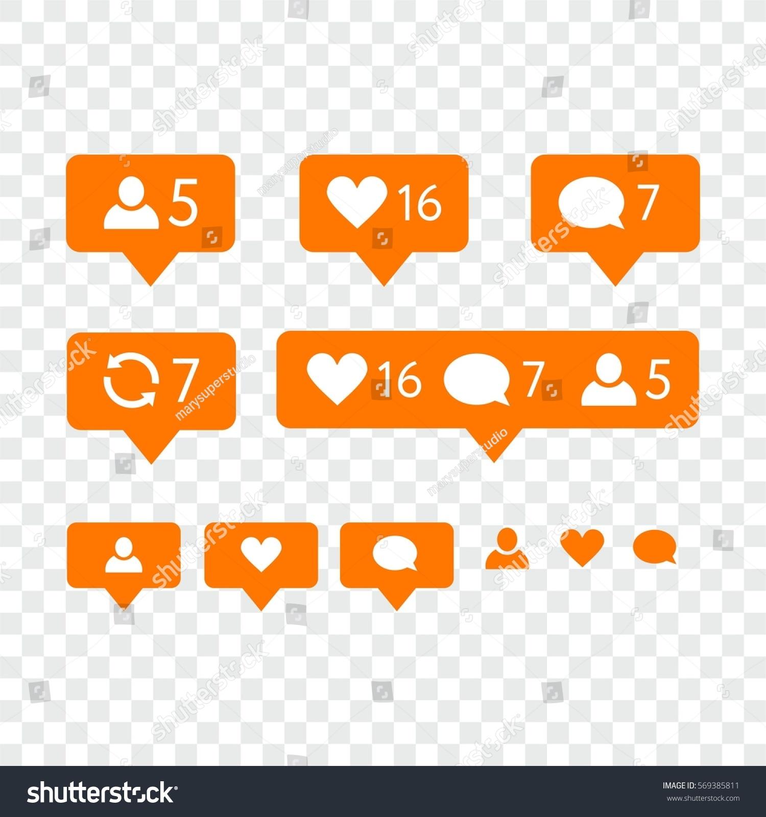 facebook notification symbols choice image symbols and