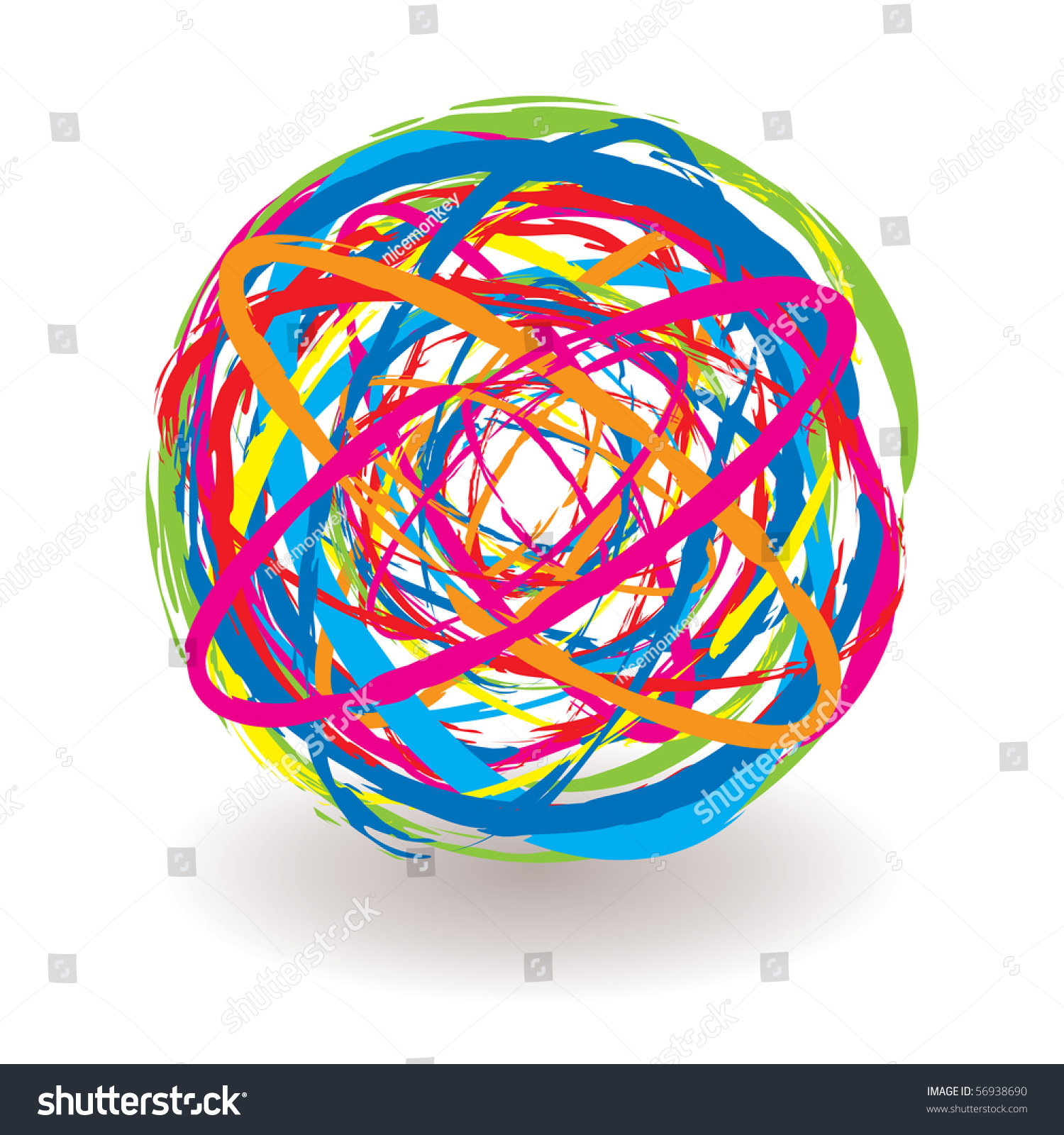 elastic band ball how to make