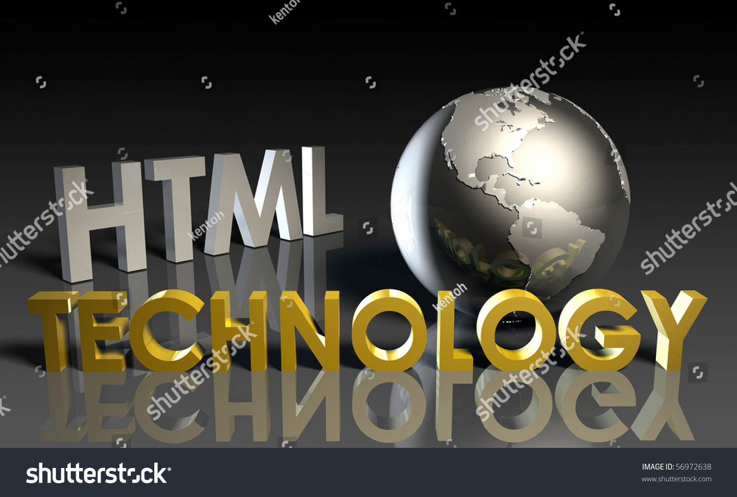 Html Technology Internet Abstract As A Concept Stock Photo