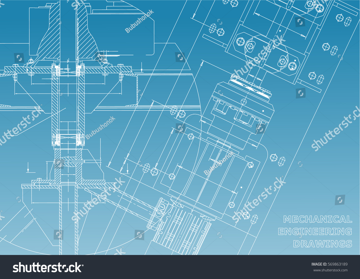 Mechanical engineering drawings technical design for Engineering blueprints