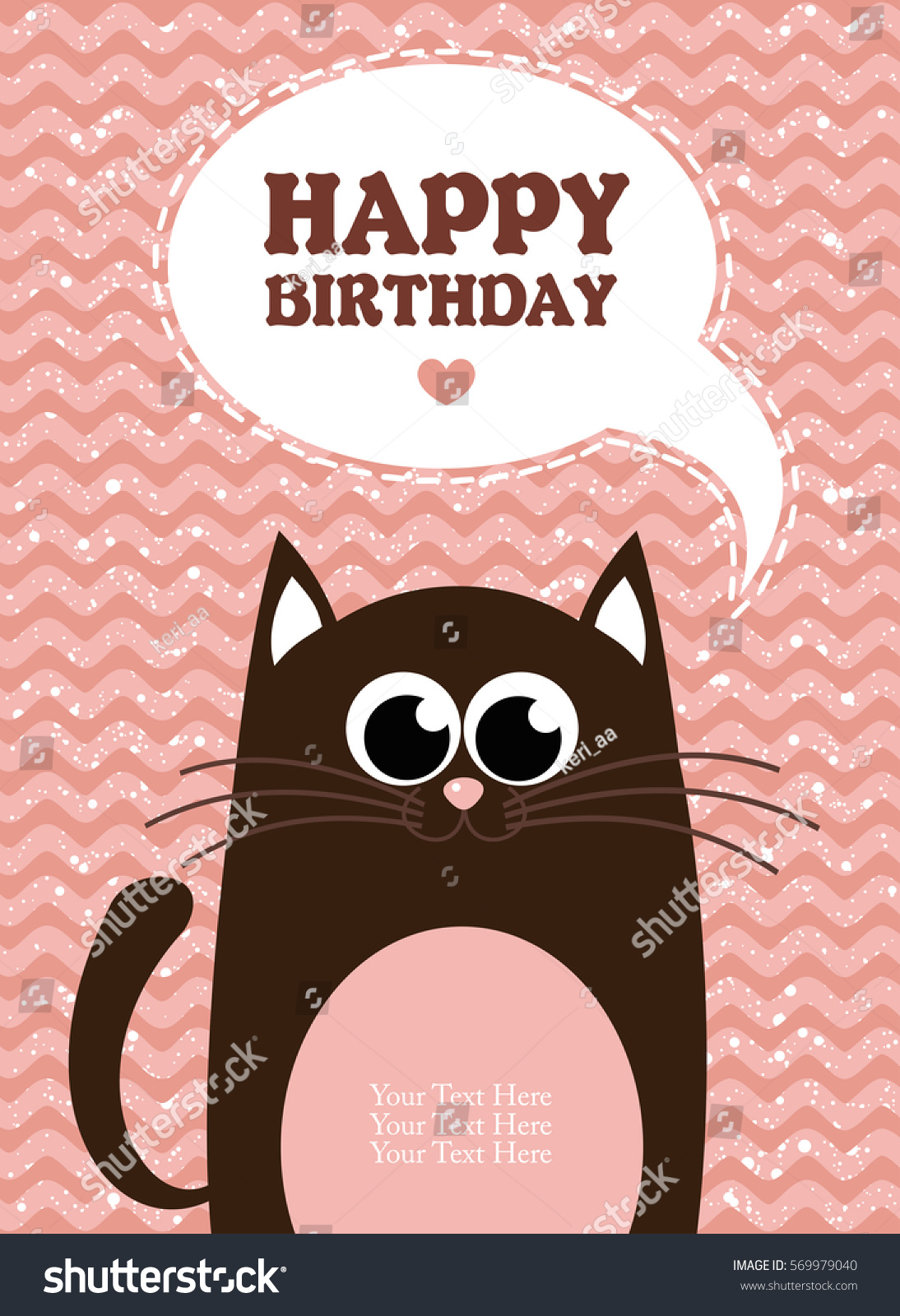 cute creative cards templates with happy birthday theme design hand drawn card for birthday