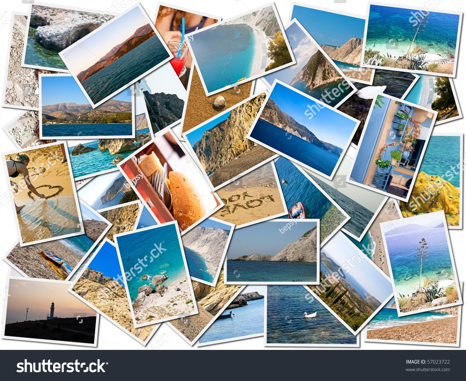 Sea Holiday Postcards Stock Photo 57023722 - Shutterstock