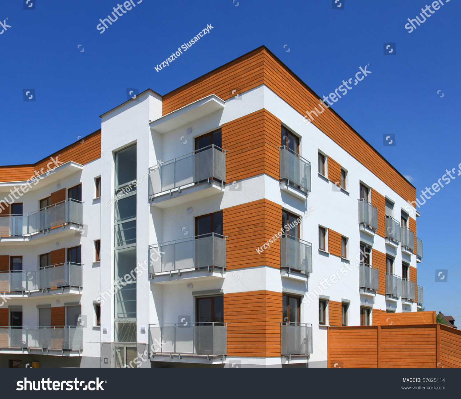 Average Contemporary Apartment Building Generic Residential Architecture S