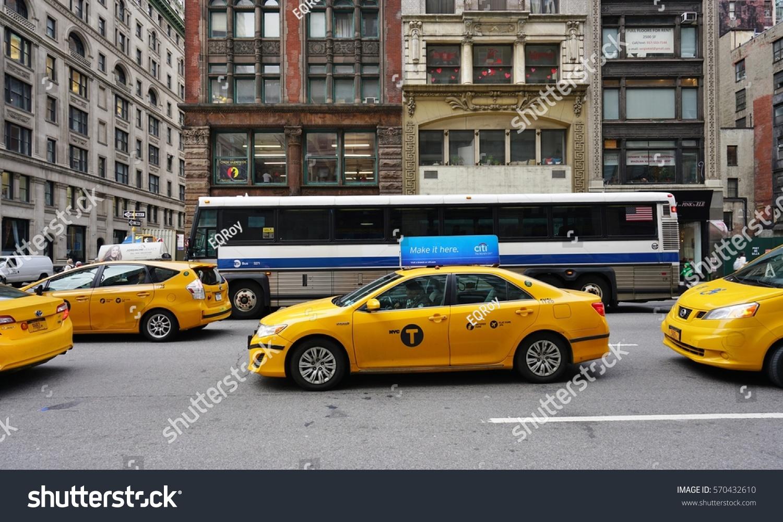 NEW YORK CITY NY 26 Jan Stockfoto (Jetzt bearbeiten) 570432610 ...