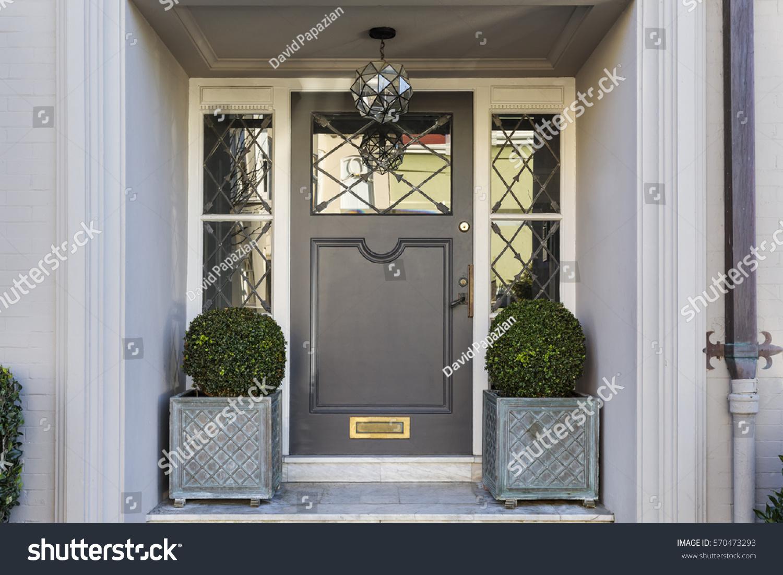 Front Door Grand Entryway Stock Photo 570473293 Shutterstock