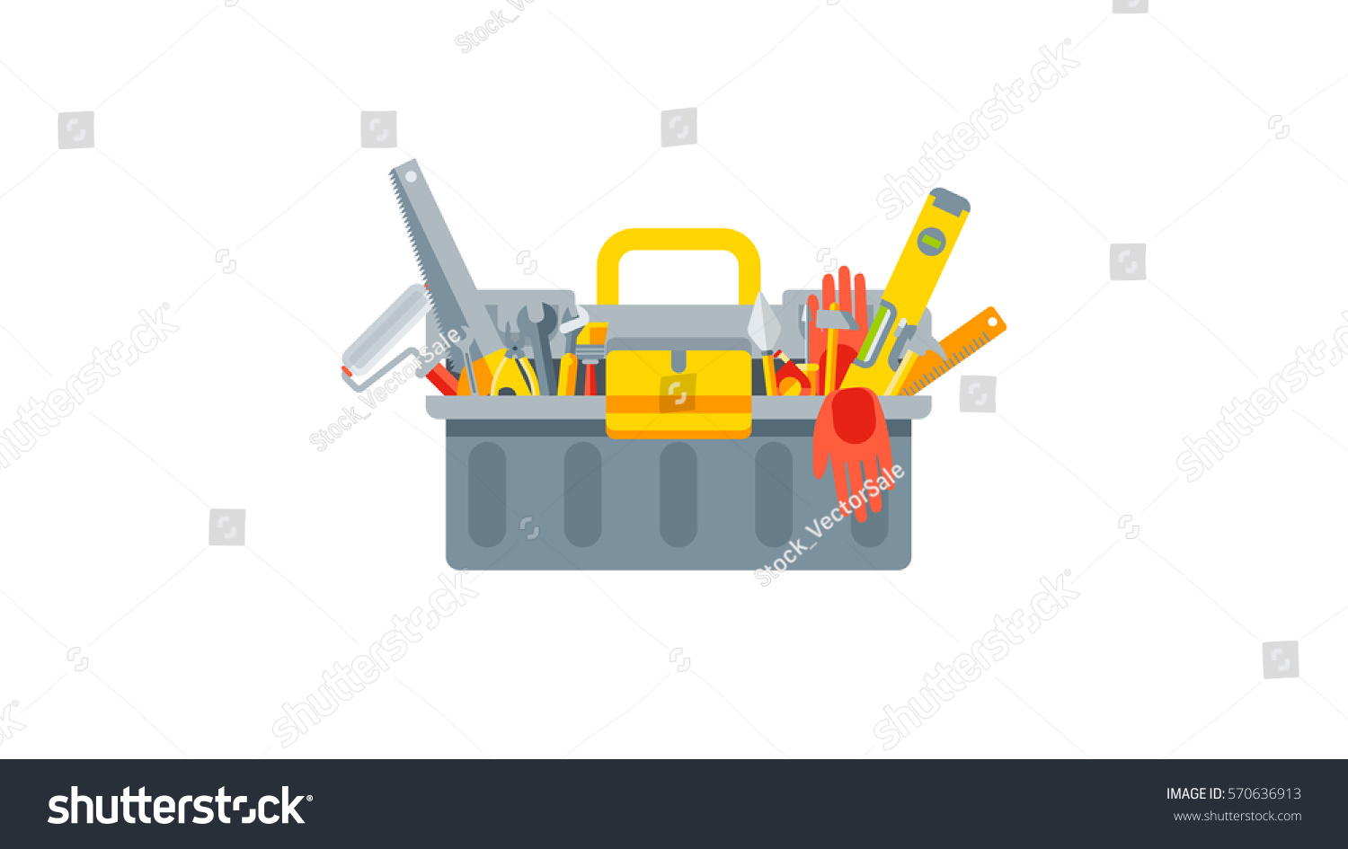 stock vector illustration set isolated icon stock vector 570636913