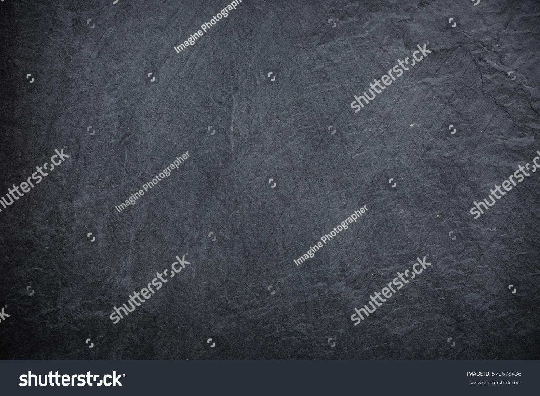 Dark Slate Grey : Dark grey black slate background texture stock photo