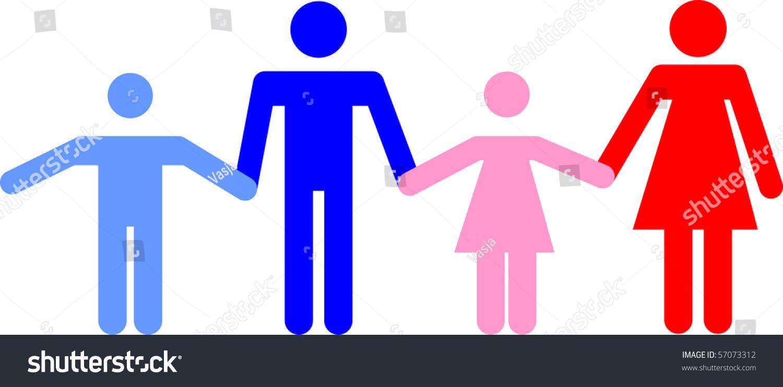 Symbol representing family stock vector 57073312 shutterstock a symbol representing a family buycottarizona