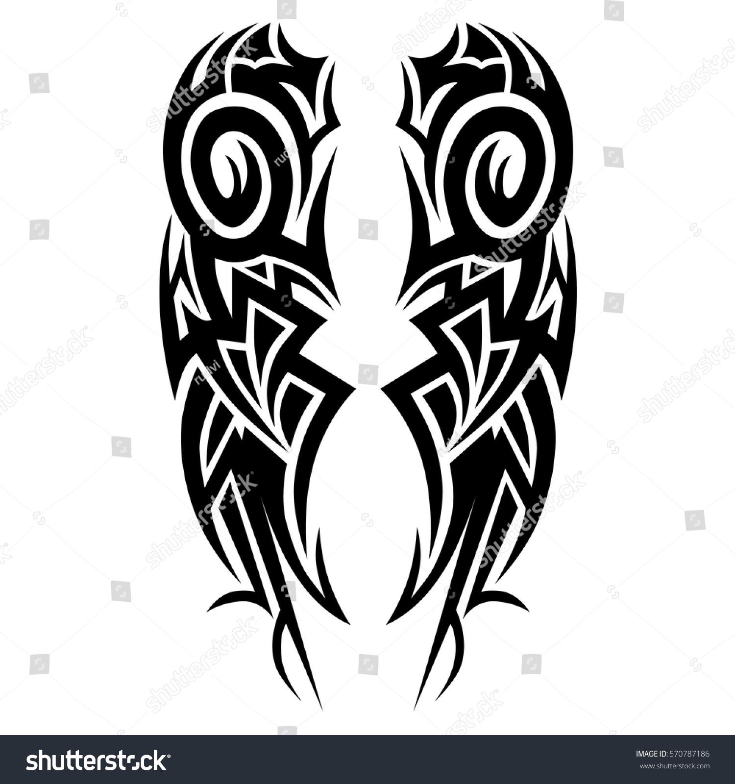 Tattoo Designs Tattoo Tribal Vector Designs Stock Vector