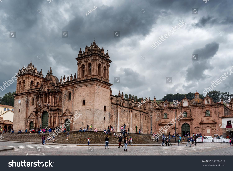 Cusco Peru Jan 23 Cuzco Catedral Stock Photo Edit Now 570798517