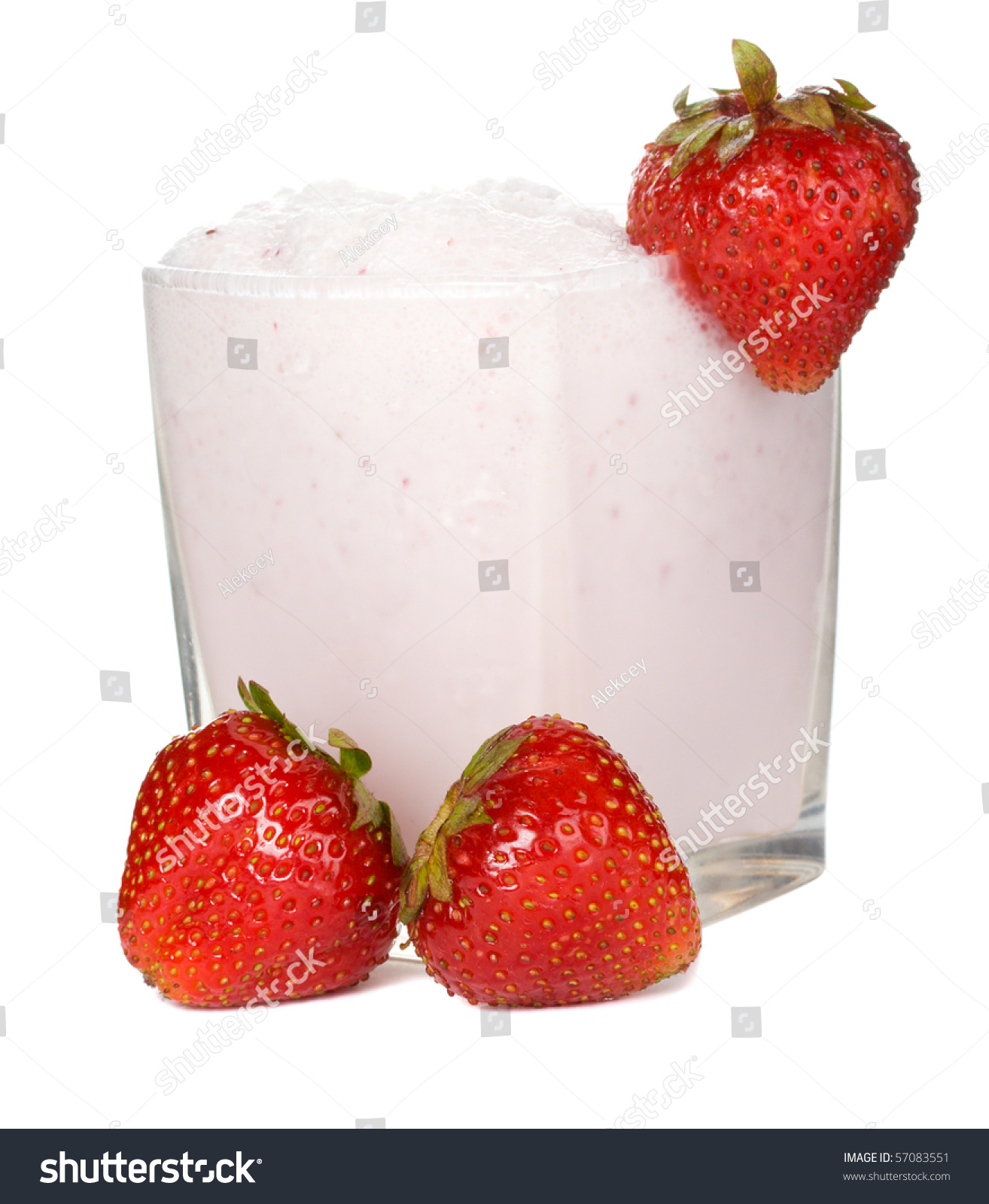 how to make fresh strawberry milkshake