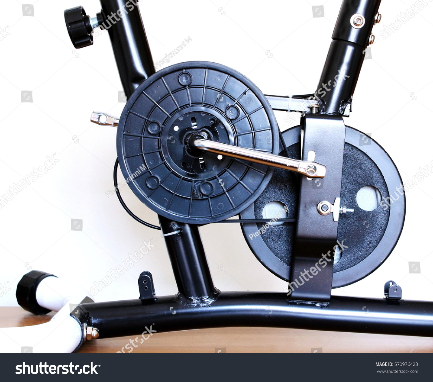 Home Fitness Indoor Training Machine Home Stock Photo (Edit