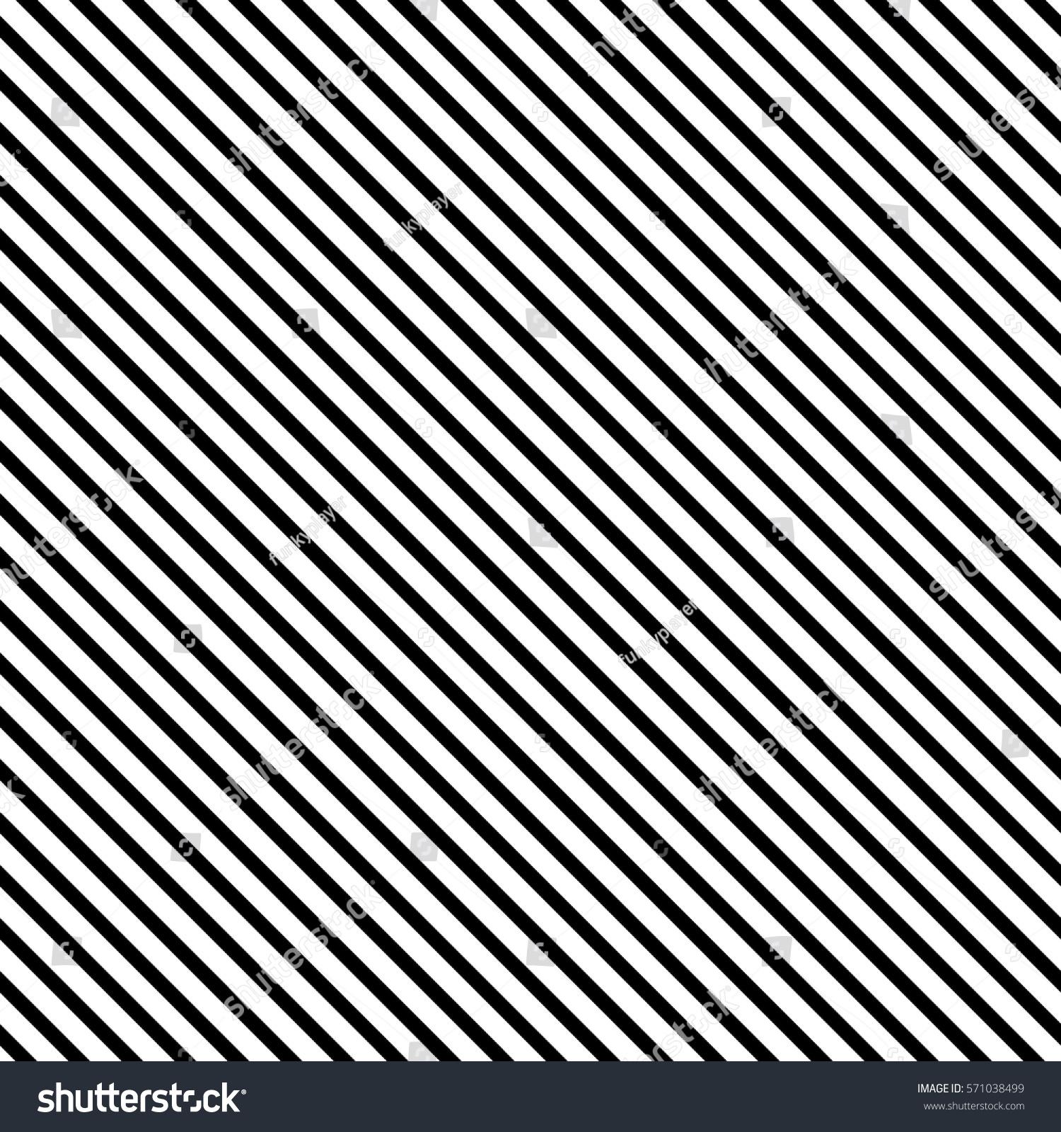 Black Diagonal Lines Striped Wallpaper Seamless Stock Vector 2018