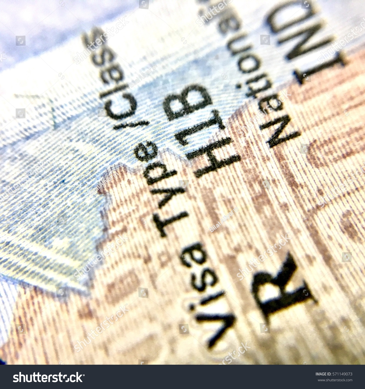 United State America H1b Visa Indian Stock Photo (Edit Now