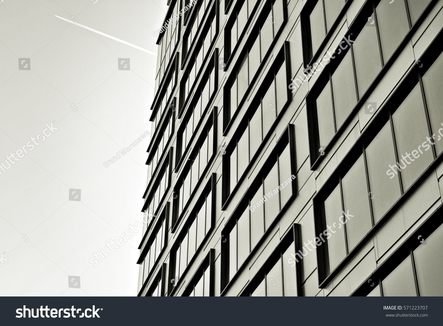 Modern buildingblack white stock photo 571223707 for Modern black and white photography