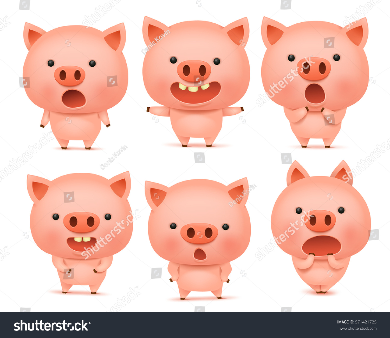how to make a pig emoji