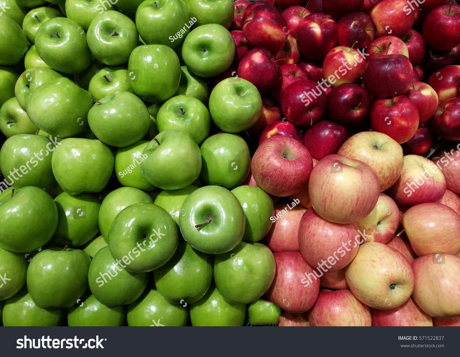 green and red apples. green and red apples r
