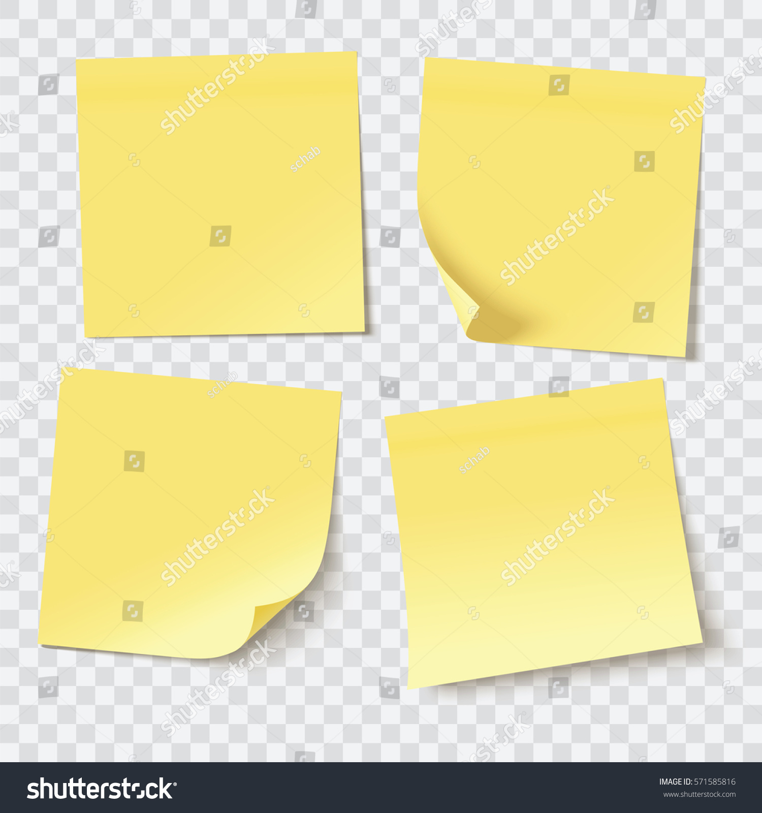 Free vector graphic sticky note note info paper free image on - Yellow Sticky Notes Vector Illustration