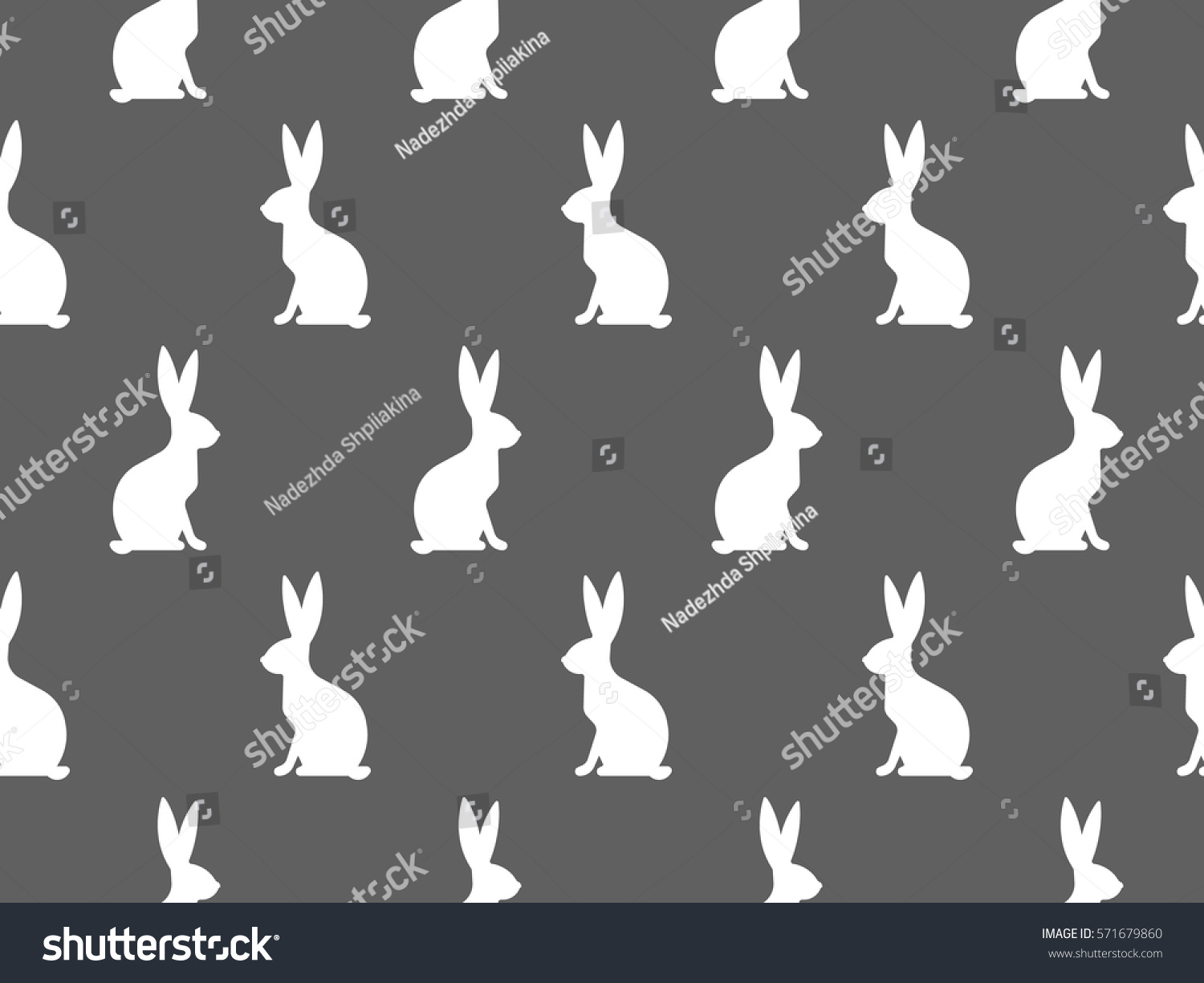 Seamless Easter Pattern Colorful Season Texture Stock