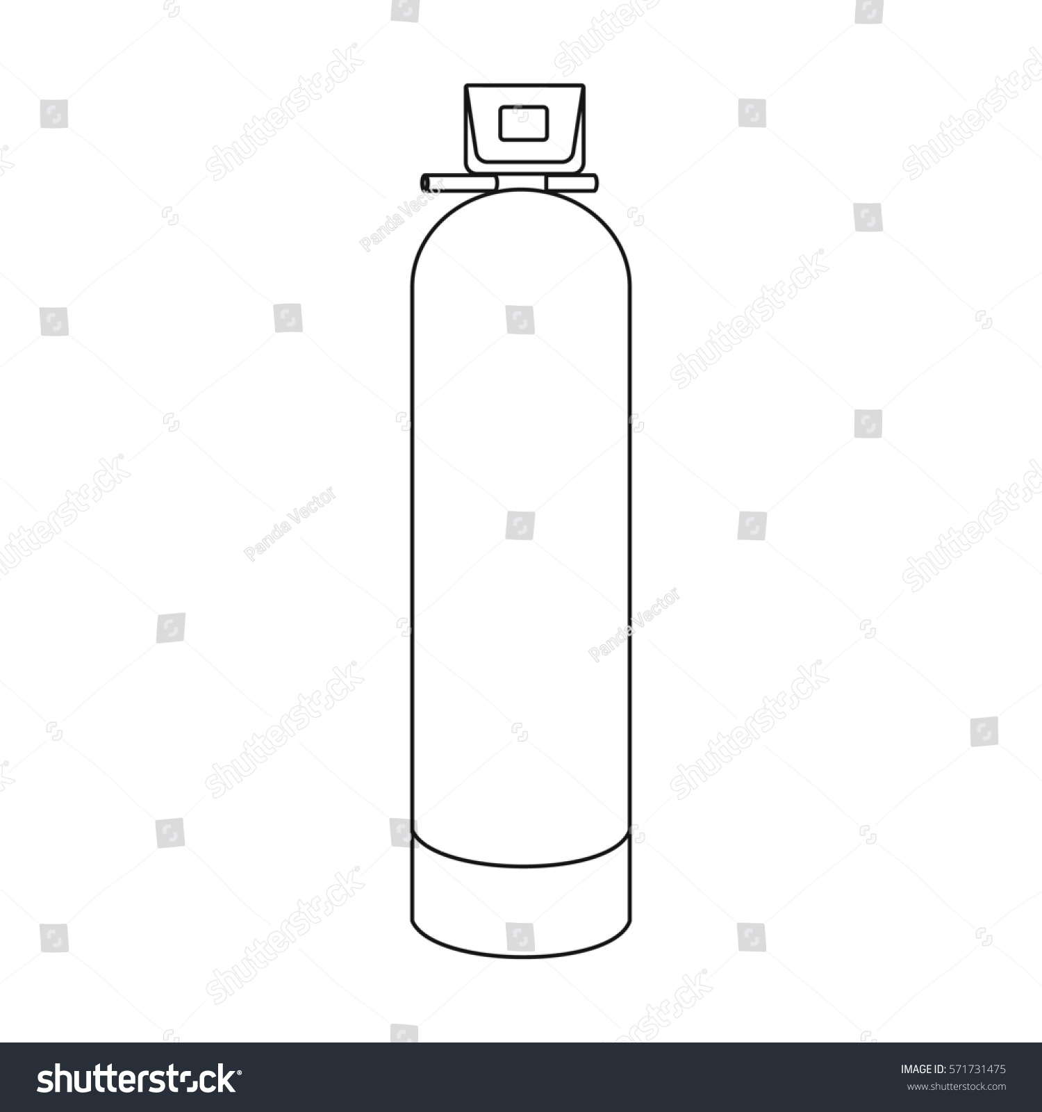 Royalty Free Stock Illustration Of Water Filter Machine Icon Outline