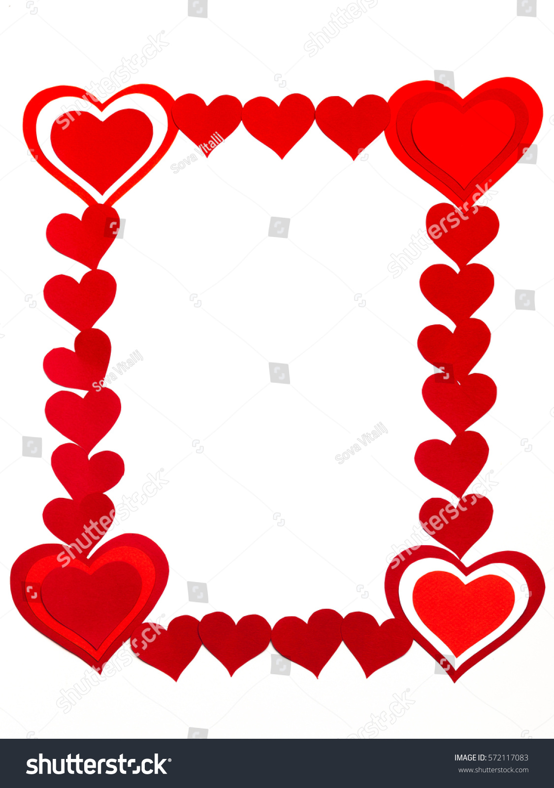 Frame On February 14 Valentines Day Stock Photo (Safe to Use ...