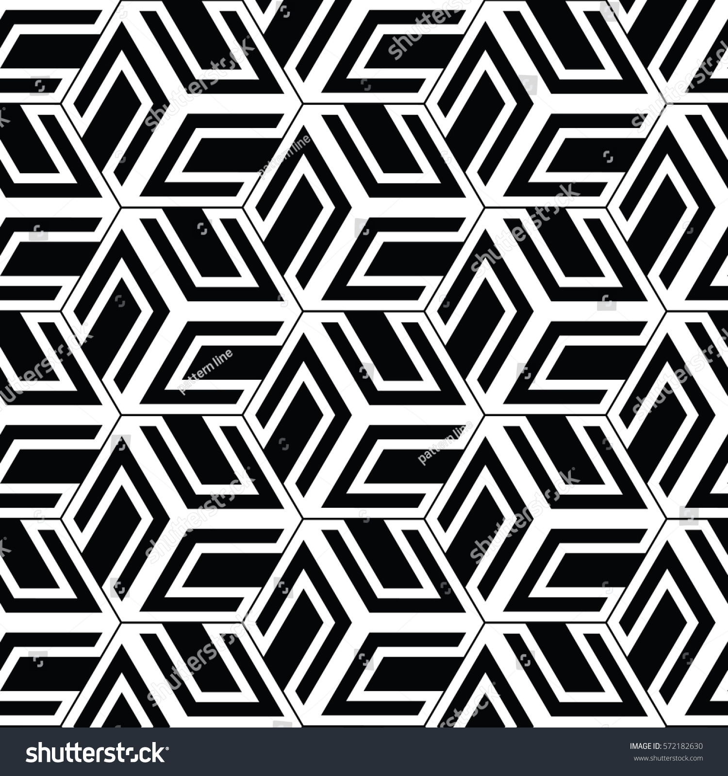 Line Texture Vector : Black white patternbackground line geometricmodern stylish