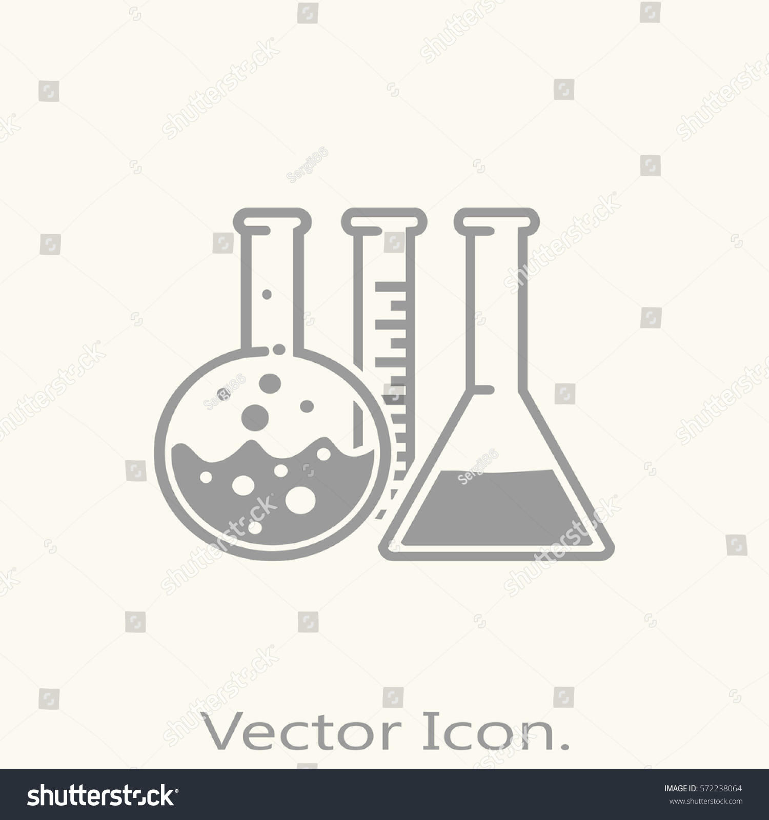 Chemical test tubes icon isolated sign stock vector 572238064 chemical test tubes icon isolated sign symbol and flat style for app web and digital buycottarizona Images