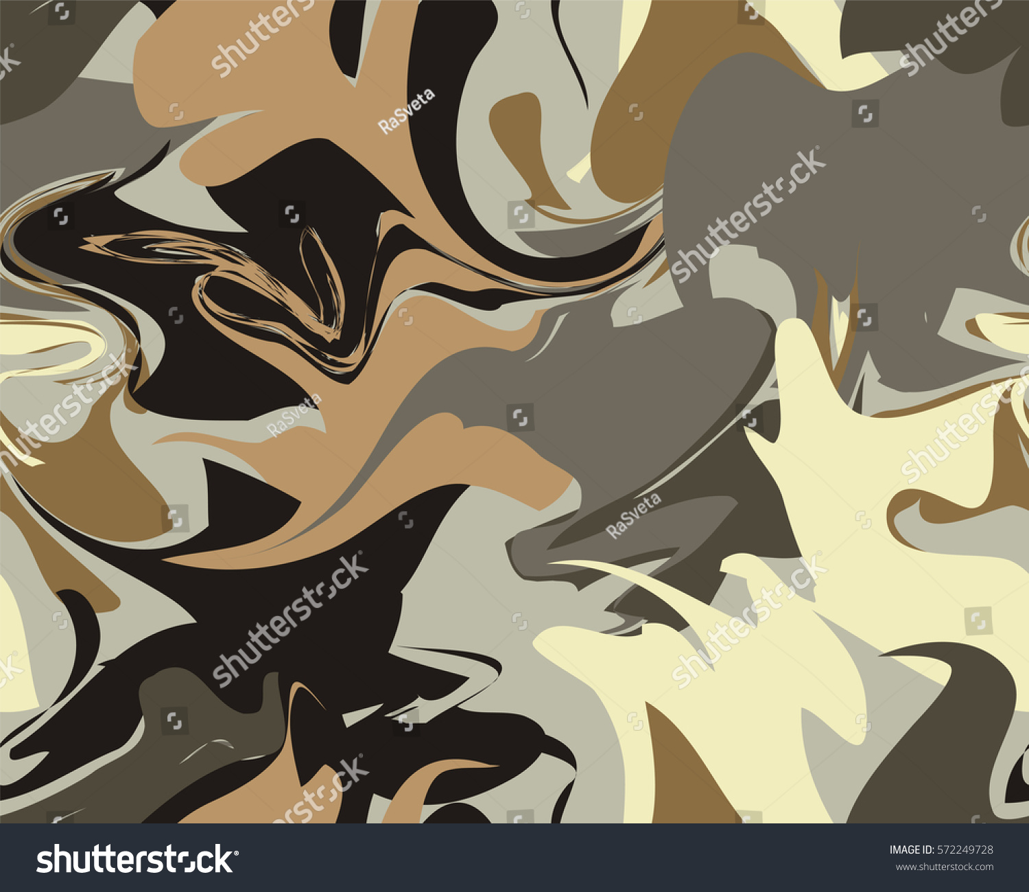Marble Texture Seamless Pattern Trendy Colors Stock Vector ...