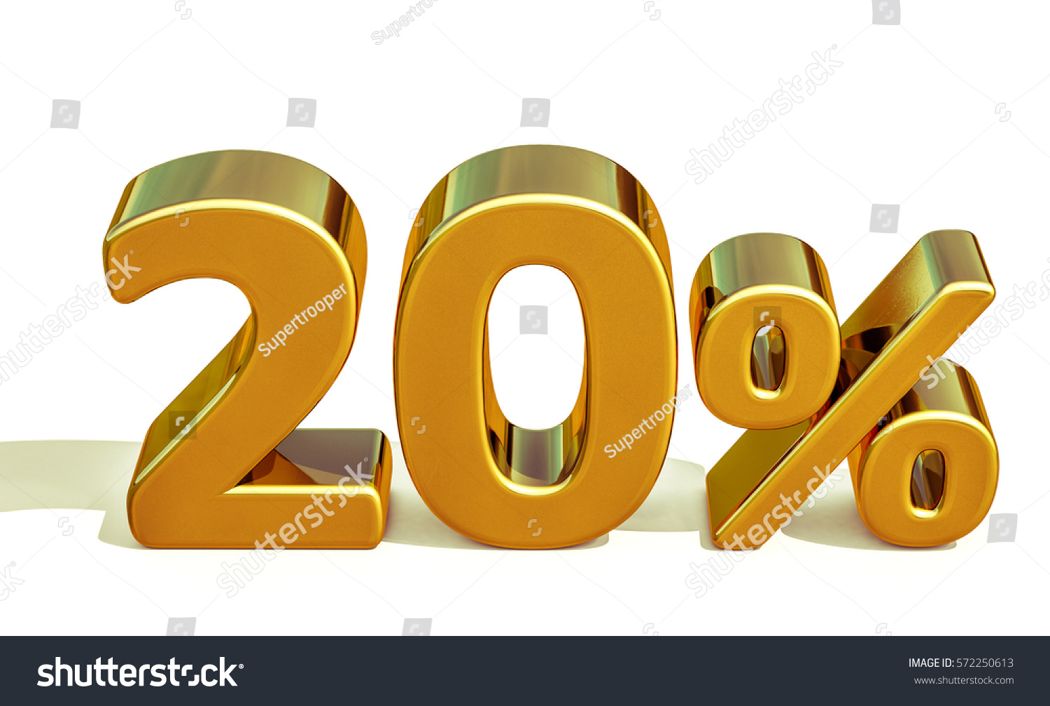 Gold Sale 20 Gold Percent Off Discount Sign Sale Banner Template