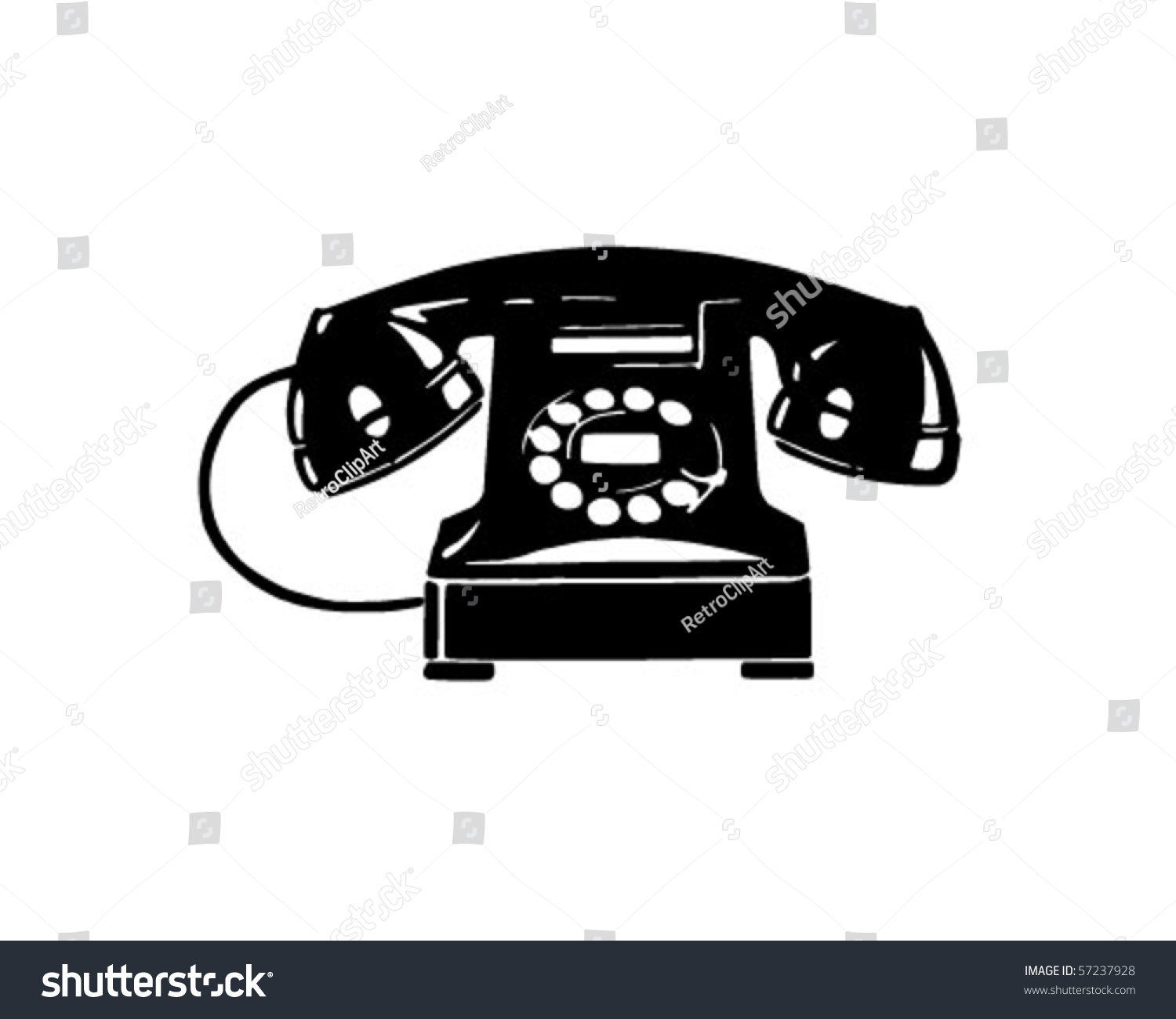 vintage telephone clipart - photo #48