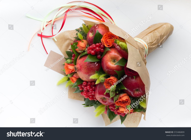 Original Unusual Edible Fruit Bouquet On Stock Photo Edit Now