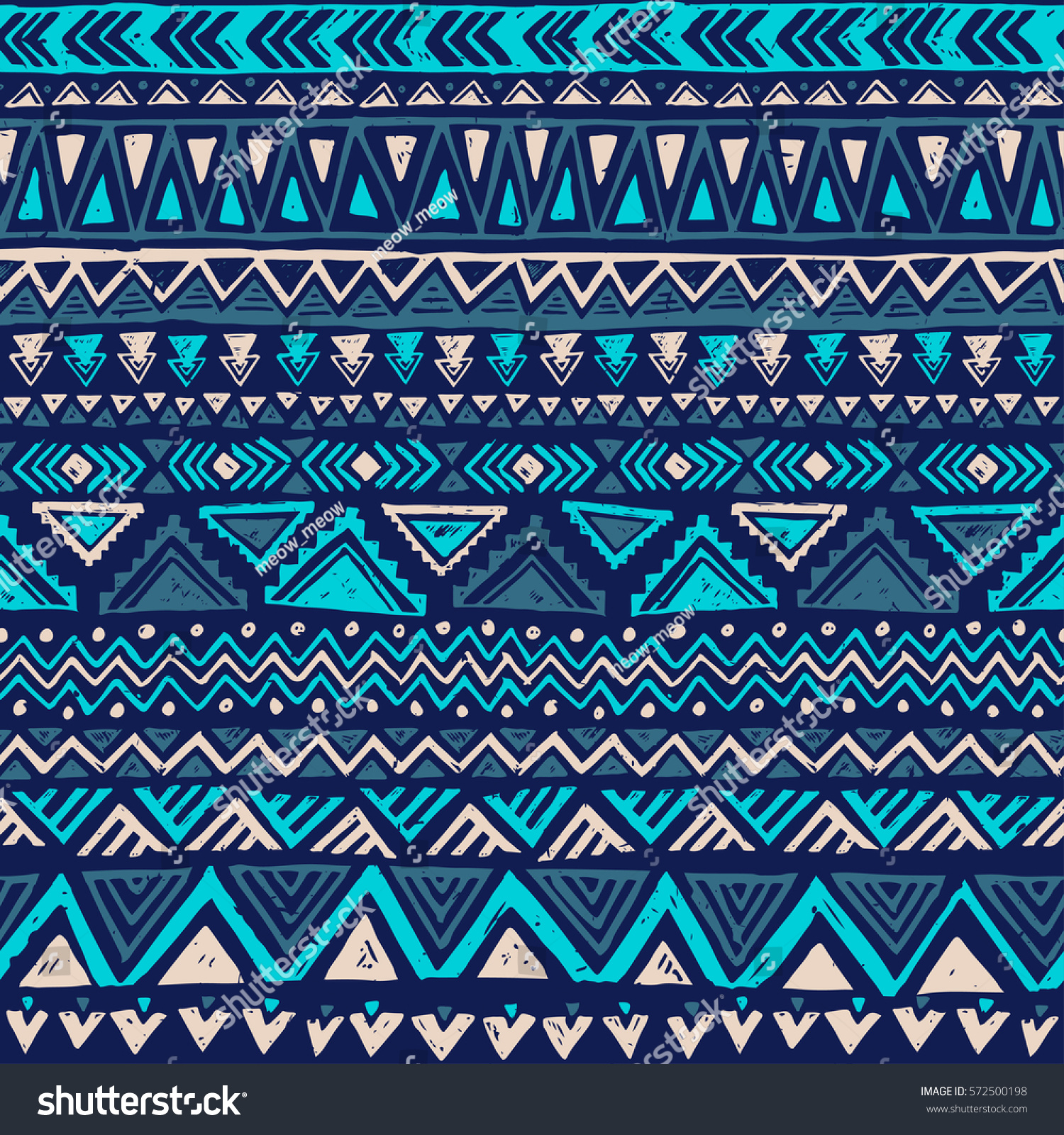 Blue Tribal Wallpapers