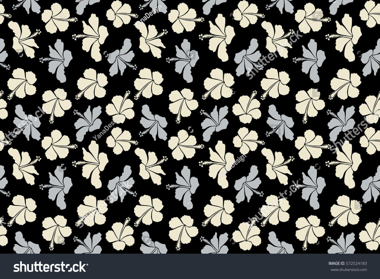 Bright hawaiian design with raster tropical plants and hibiscus id 572524183 izmirmasajfo