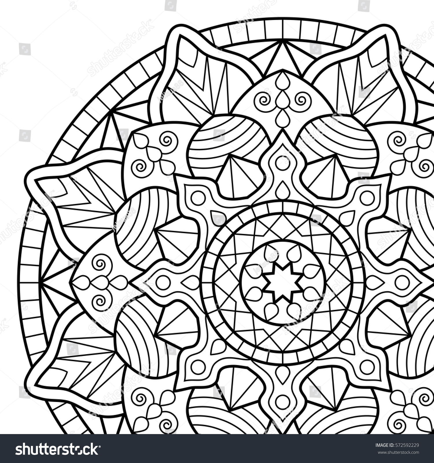 6700 Henna Flower Coloring Pages  Images