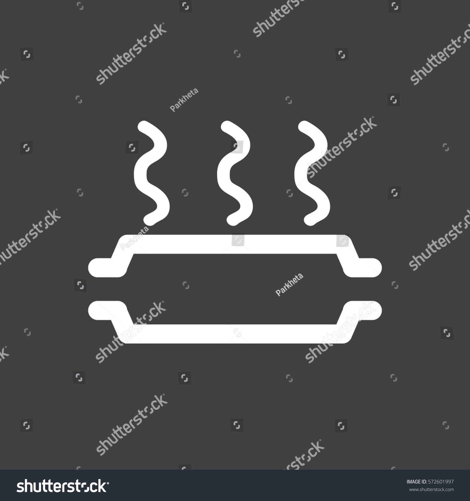 Vector Illustration Sign On Car Dashboard Stock Vector - Car image sign of dashboard