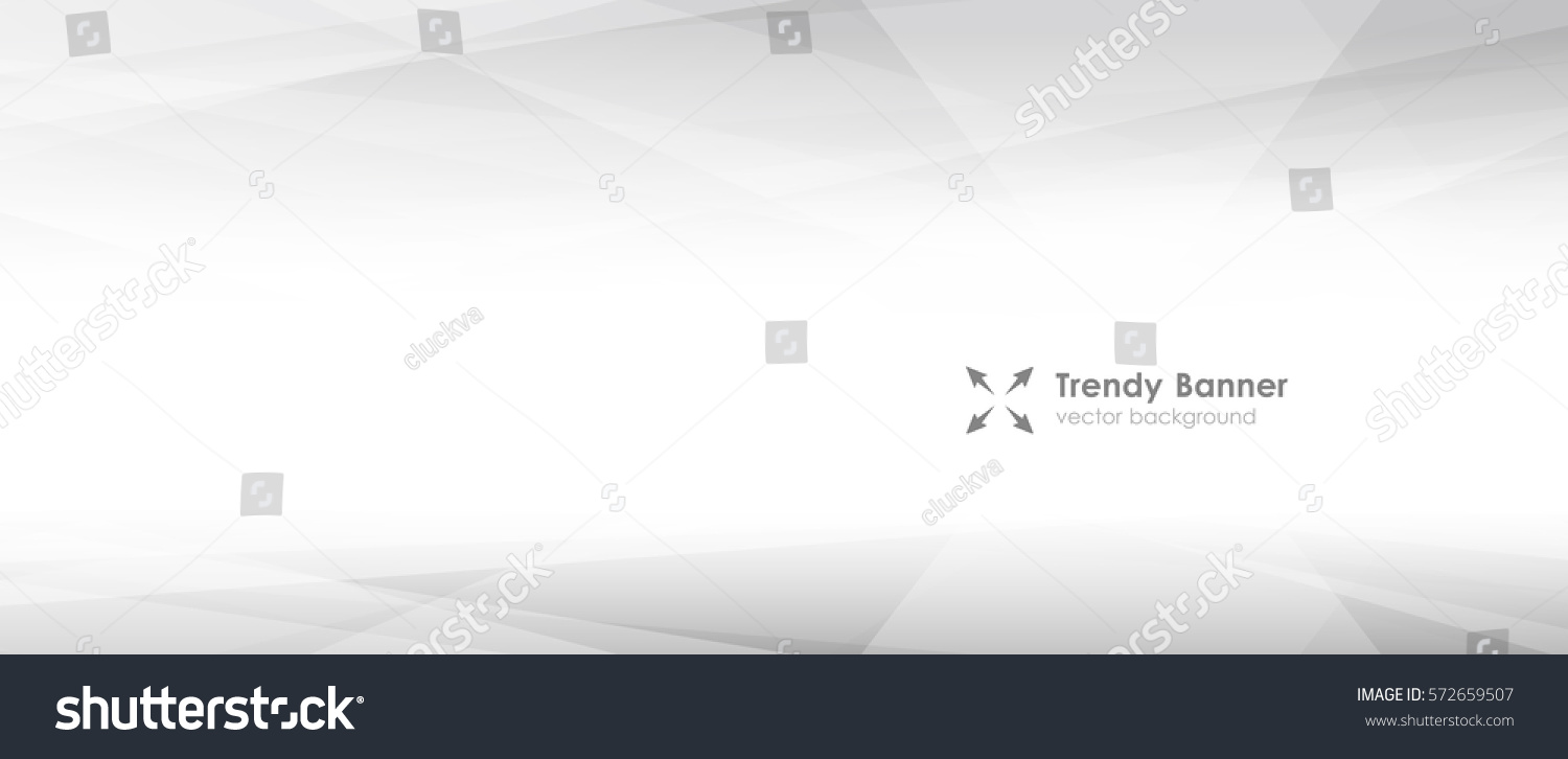 LowPoly Trendy Banner with copyspace. Vector illustration. Used opacity layers #572659507