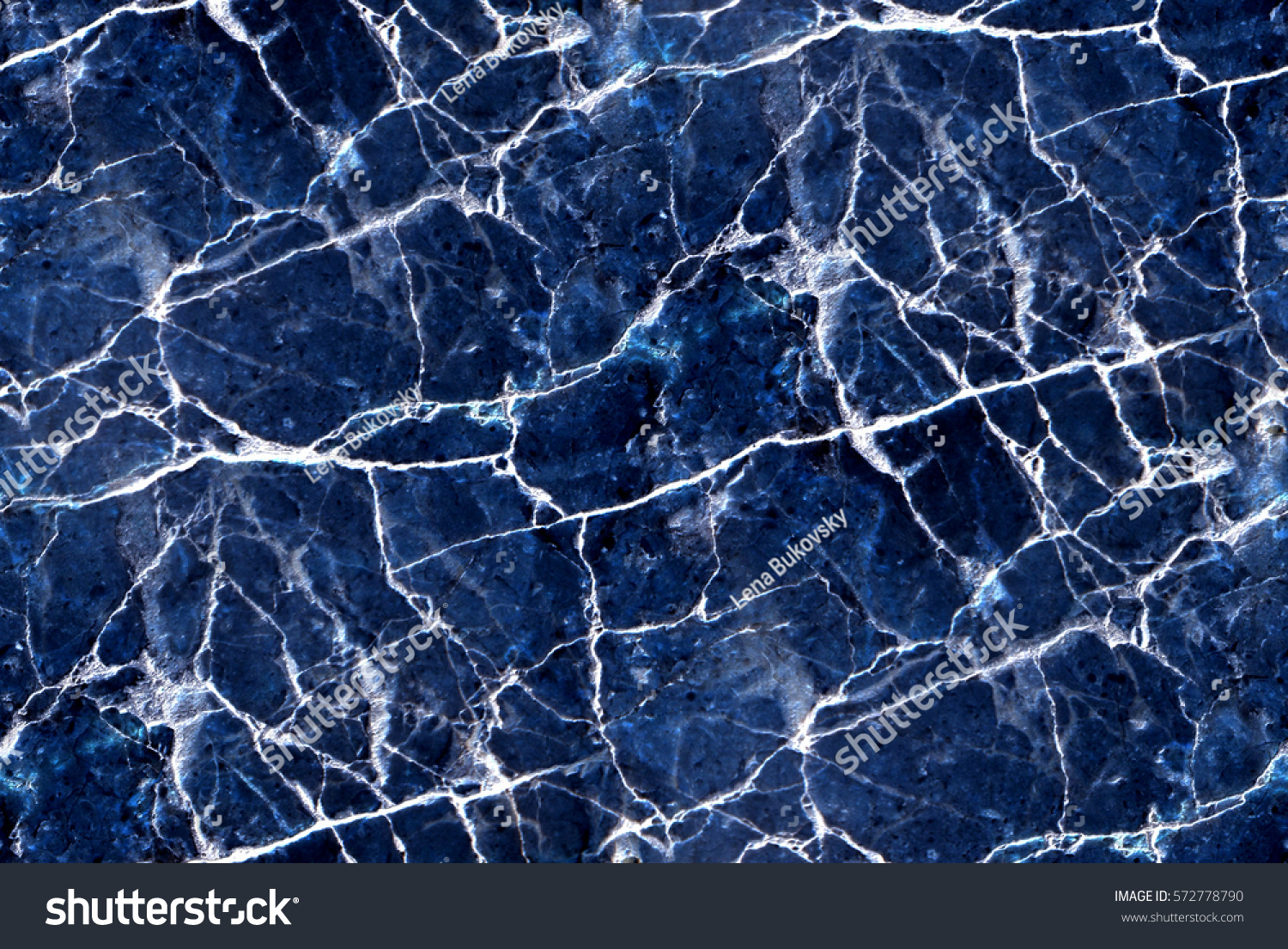 Blue Marble Texture Abstract Seamless Background Stock